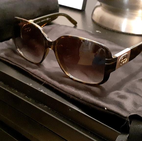 Gucci Tortoise Shell Sunglasses GG-3170-S-791/JS